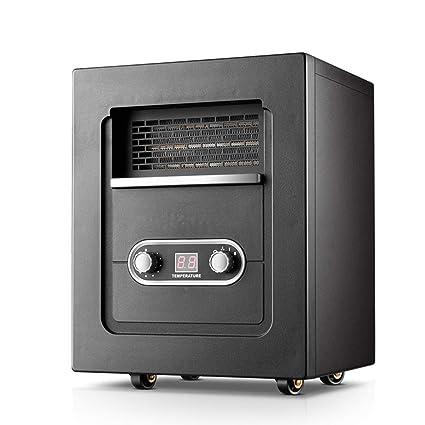 Calentador eléctrico de la estufa - estufa de asado de la chimenea de sequía silenciosa del