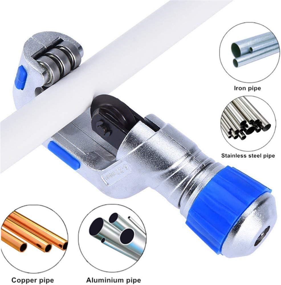 4EVERHOPE de cobre de alta resistencia de acero inoxidable del PVC cortador con 2pcs tubo de rodamiento cuchillas 4-23mm Tubo de rodamiento de tubos de corte 1//8-1-1//4