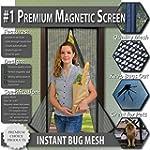 Premium Magnetic Screen Door - KEEP B...