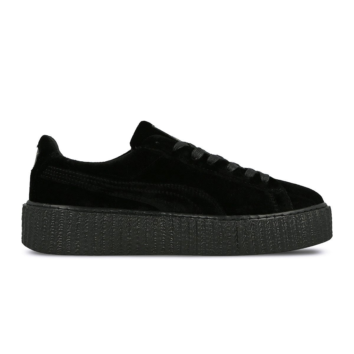 Limited Puma x Rihanna Puma by Rihanna Women's Creeper Velvet Collection B073X25Y9B 7 B(M) US|Black