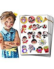 Ryan Party Favor Temporary Tattoos for Ryan Birthday Party Decorations supplies for Kids (5 Sheets)