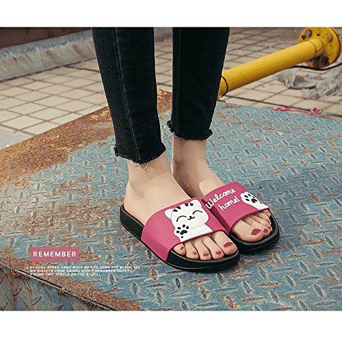 Bain De 19 Sole Foams Douche Chaussures Antidérapantes D'eau Mule Soft Pantoufles Maison Rose Sandales Salle Piscine 7dqxwS