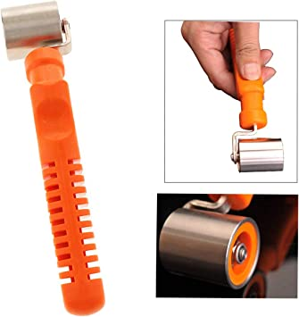 Wallpaper Edge Seam Roller Flat Pressure Roller Wheel Home Wall Paper Tools