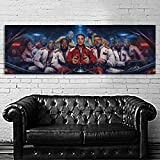 SDK mural #05 Poster Mural Logic Incredible True Story 20x60 inch (50x150 cm) on 8mil Paper