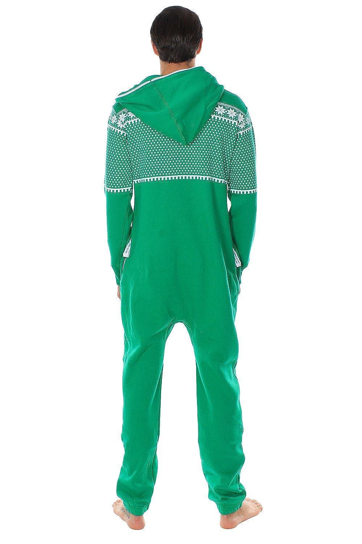 Tipsy Elves - Suéter navideño friki Pijama de cuerpo entero Renos emparejados talla Medio color: Amazon.es: Ropa y accesorios