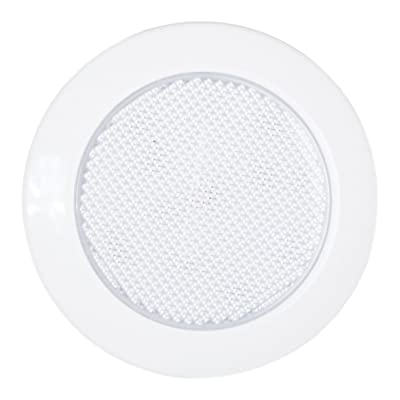 "Maxxima M84441 White 3"" 15-LED Round Low Profile Interior Courtesy Dome Light: Automotive"
