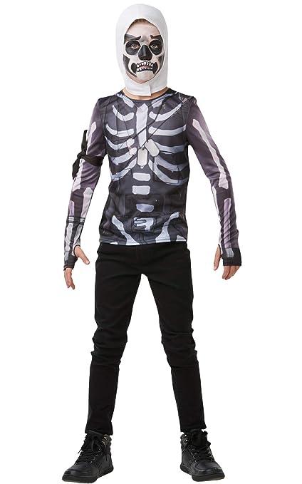 Fortnite-300208-TE Camiseta Skull Trooper, Multicolor (Rubies 300208-TE)