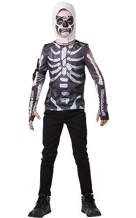 Amazon.com: Rubies Fortnite Skull Trooper - Disfraz para ...