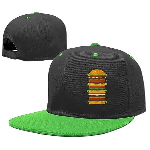 Kids Huge Fruits and Veggies Hamburger Adjustable Baseball Hat Toddler Cap  Hip Hop Custom for Children 968c1793d