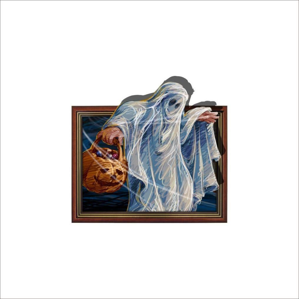Lovewe Horror Ghost 3D Wall Stickers,Removable Waterproof Home Decals Halloween
