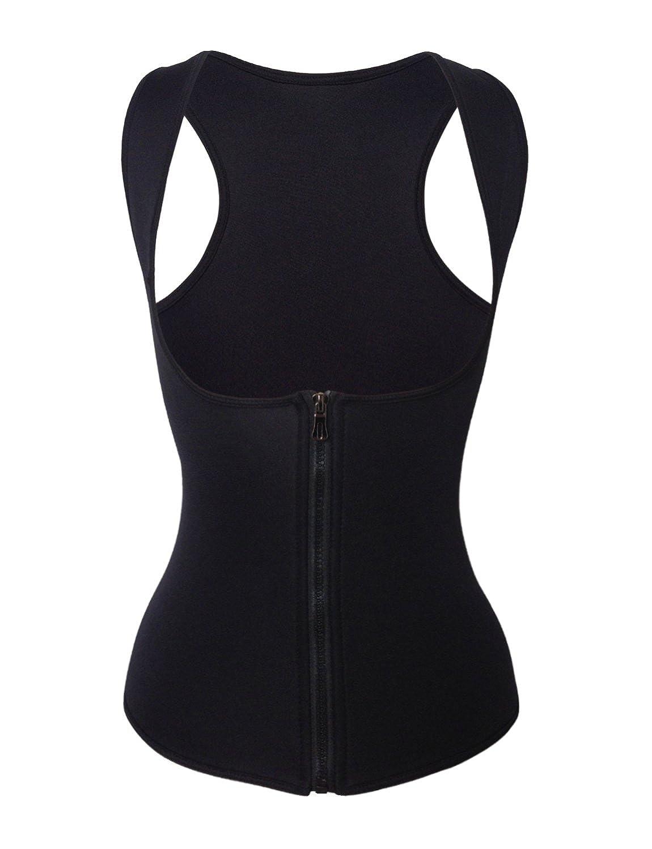 Shaper Maker Women Tummy Fat Burner Sweat Tank Top Workout Shapewear