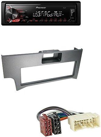 Pioneer 190ui MP3 AUX 1DIN USB Radio de coche para Nissan Primera P11 (2000 – 2002): Amazon.es: Electrónica