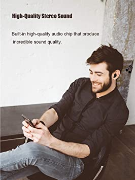 Auriculares Bluetooth, Auriculares inalámbricos Bluetooth 5.0 Sonido Estéreo Auricular Mini Twins In-Ear Auriculares con Caja de Carga Portátil Y ...