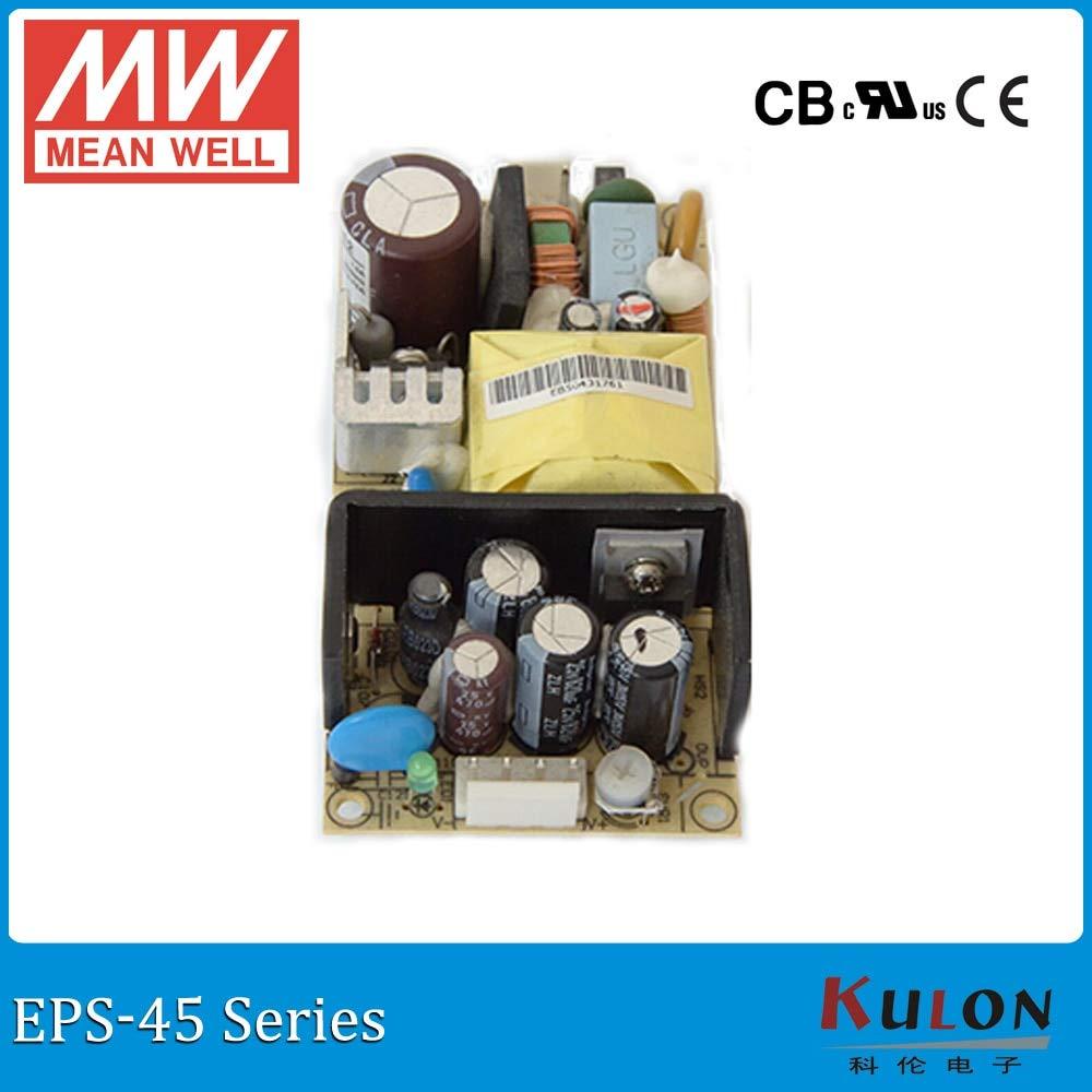 Output Voltage: 7.5V 5.4A 40.5W Utini Meanwell EPS-45 Single Output PSU Open Frame ac dc Power Supply 35W 3.3V 5V 7.5V 12V 15V 24V 27V 36V 48V 8A 1A 3A Mini Size