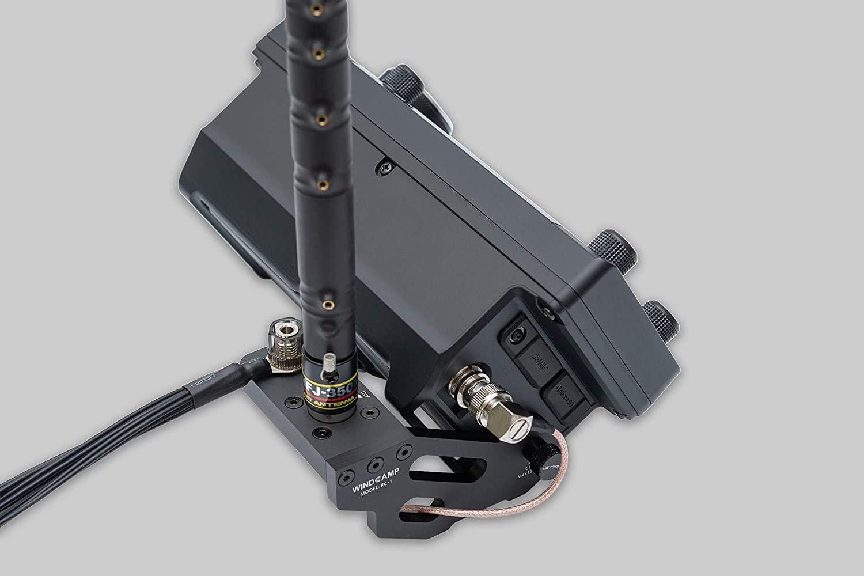 WINDCAMP Soporte de antena de liberación rápida para ICOM 705 ...