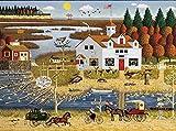 Charles Wysocki - Carver Coggins - 1000 Piece Jigsaw Puzzle