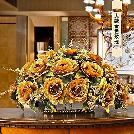 Amazoncom European Vase Flower Simulation Set Flowers Flowers