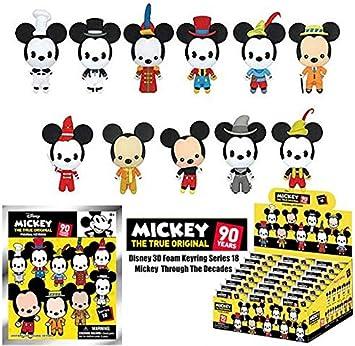 Monogram - Llavero 3D de Mickey Mouse de Disney, Serie 18, Caja Cerrada de 24 Unidades #1: Amazon.es: Juguetes y juegos