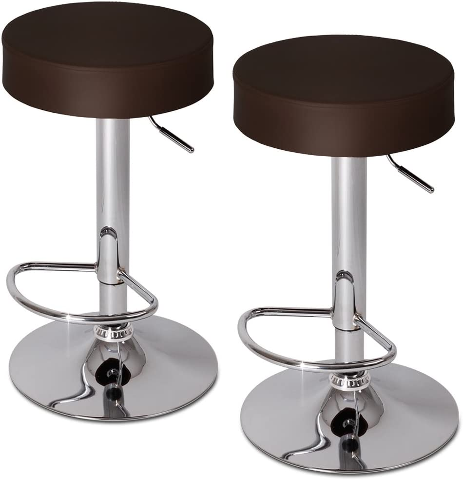Jago LBHK06 2 Brown Bar Stools