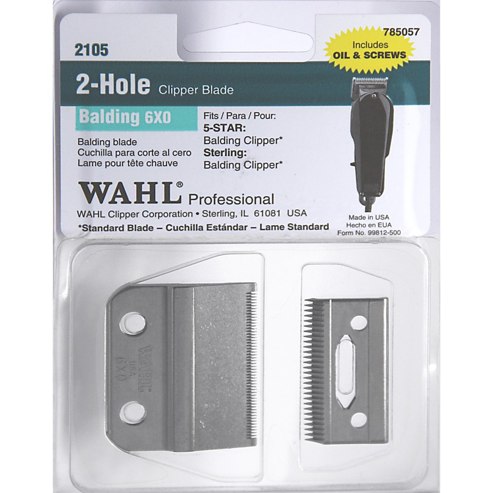 Wahl Balding Clipper New Replacement Blade Set*** 0.4mm * Model no: 2105 USA