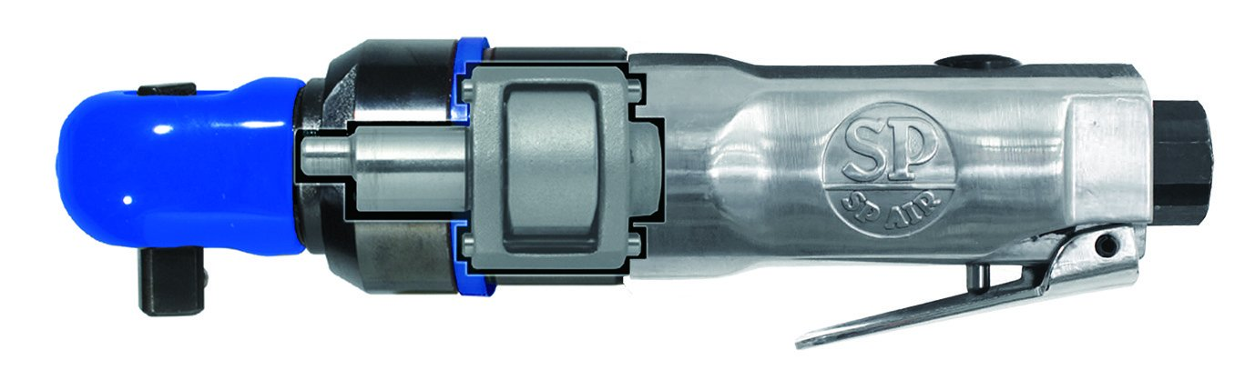 SP Air Corporation SP-1765HD 3/8-Inch Super-Fast Mini Impact Ratchet