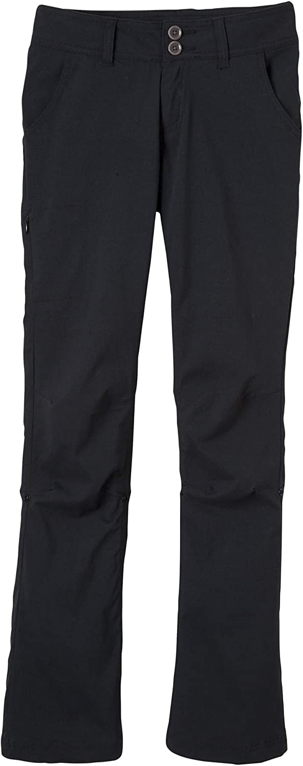 prAna Womens Halle Roll-Up Water-Repellent Stretch Pants for Hiking and Everyday Wear