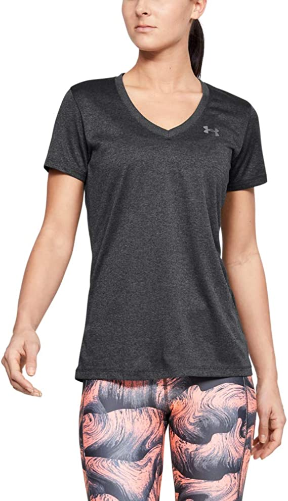 TALLA M. Under Armour Mujer Tech Short Sleeve V - Solid, Camiseta