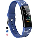 Mgaolo Slim Fitness Tracker, IP68 Waterproof Activity Tracker with Blood Pressure Heart Rate Sleep Monitor,11 Sport Modes Hea