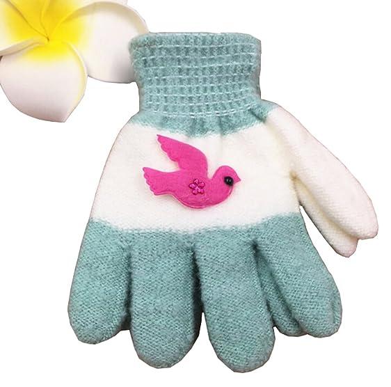Amazon Children Full Finger Mittens Gloves With Cute Animal