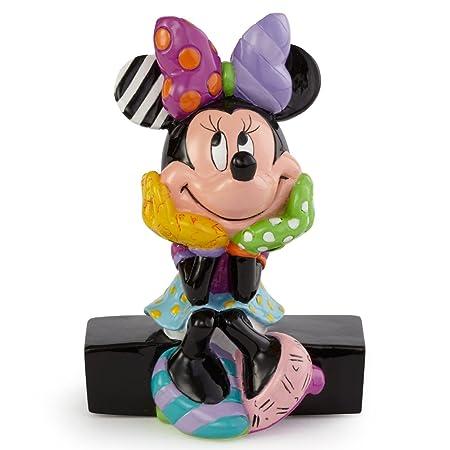Enesco Disney by Britto Minnie Mouse Mini Figurine, 3-Inch