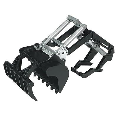 Bruder 02317 Front Shovel Loader and Log Grabber Accessory for 02000 Series Tractors: Toys & Games