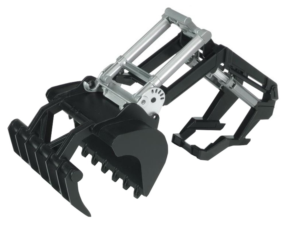 BRUDER - 02317 - Fourche gamme 2000 - Noire