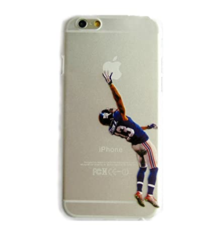 Odell beckham jr transparent iphone 6 case number 13 nfl new york giants for men