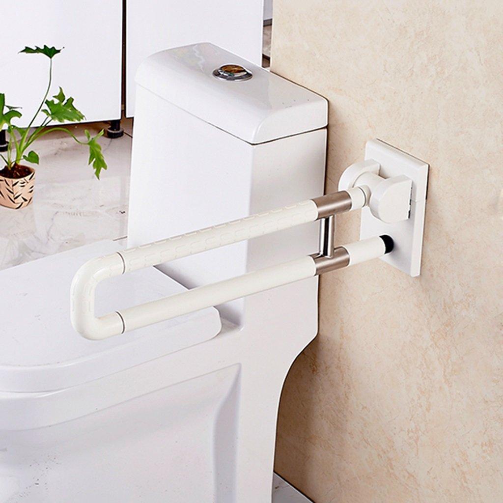 ノンスリップアクセス可能な折り畳み式手すり老人障害者バスルームハンドル B07D6G4HHS