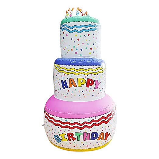 P&KK Torta Inflable, Juguetes inflables para niños Torta Grande ...
