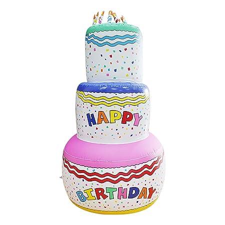 P&KK Torta Inflable, Juguetes inflables para niños Torta ...