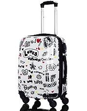 Gloria Kaos - Trolley Bagaglio a Mano Valigia Ultra Leggero In Policarbonato Flessibile Ryanair Easyjet Wizz Air
