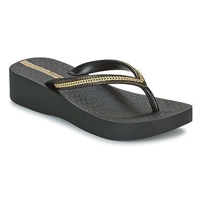 264816d63 Ipanema Womens Womens Mesh Wedge Sandals in Black - UK 6  Amazon.co ...
