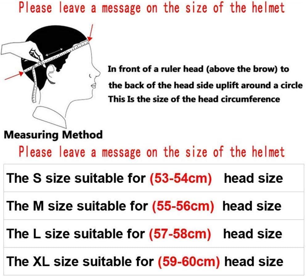 53~54cm Off-Road Anti-Collision Motorbike Helmet Full Face Helmet Off-Road Anti-Collision Helmet Kit Adult Highway Helmet,C,S