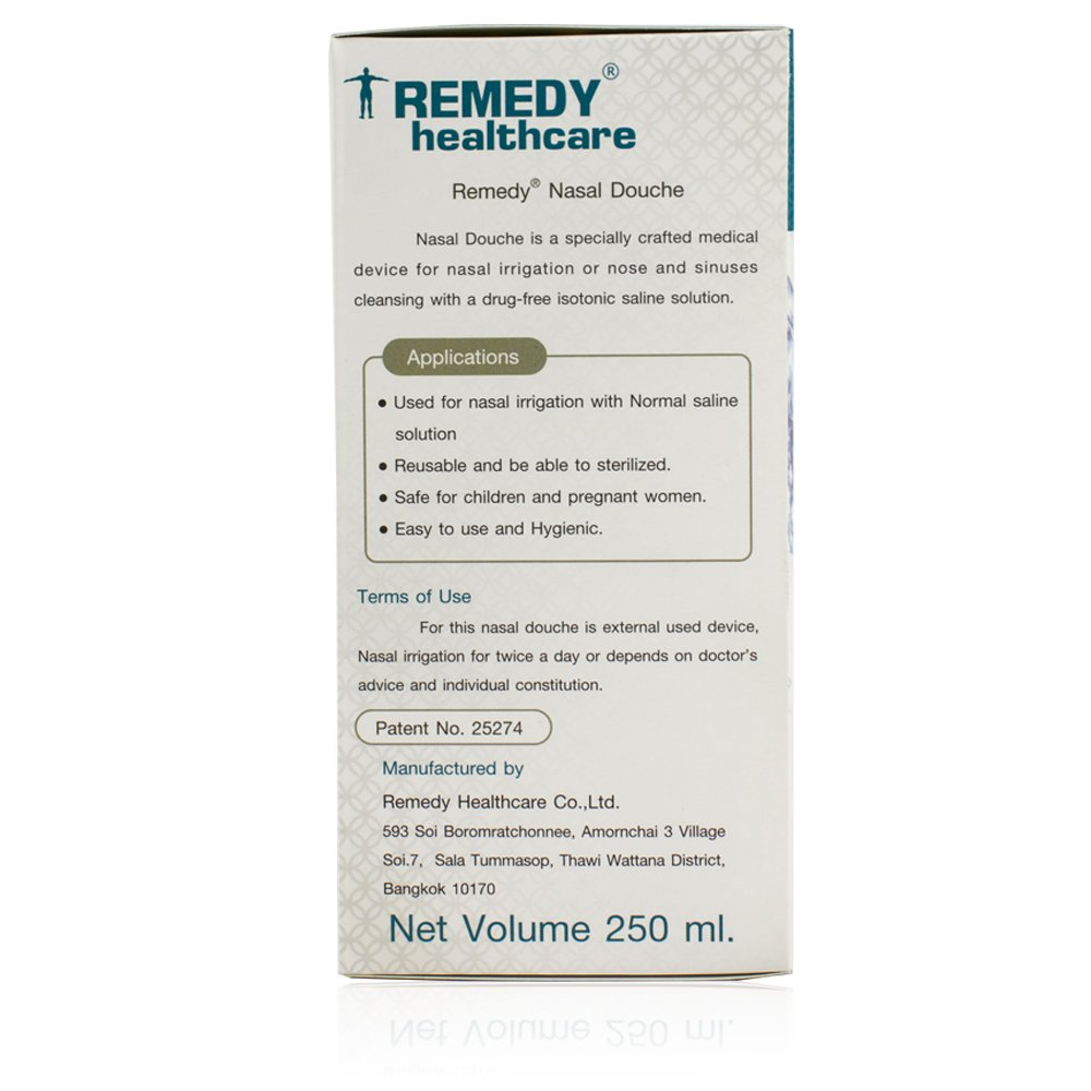 Amazon Remedy Nasal Douche Nasal And Sinus Rinse Bottle For