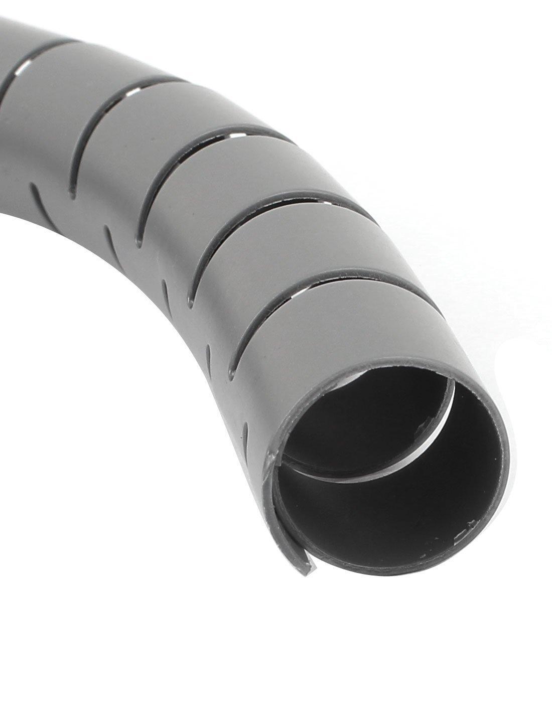 Spiralschlauch Kabel-Draht-Verpackungs-PC Kabelmanagement w Clip ...