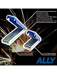 Aliado Herramientas grandes y pequeños oxy acetylene Tip Cleaner Combo Set
