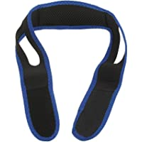 Anself Chin Strap Stop Snore Belt Chin Support Jaw Strap Snoring Sleep Aid Chin Anti Dislocation Holder Black black