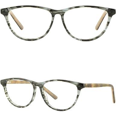 Amazon.com: Light Womens Acetate Frame Cat Eye Prescription Glasses ...