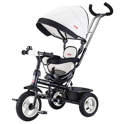 Triciclos- Trike para niños niños Bicicleta Empuje Manual ...
