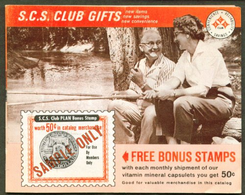 Novelty Gift Catalogs >> Amazon Com Scs Club Novelty Remedy Gift Catalog 1960s