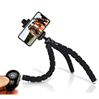 KobraTech Cell Phone Tripod Stand - Flexible Tripod for iPhone or Android - TriFlex Pro iPhone Tripod (New)