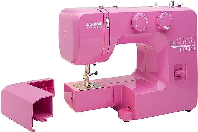 Janome Pink Sorbet Máquina de Coser fácil de Usar con Marco de ...