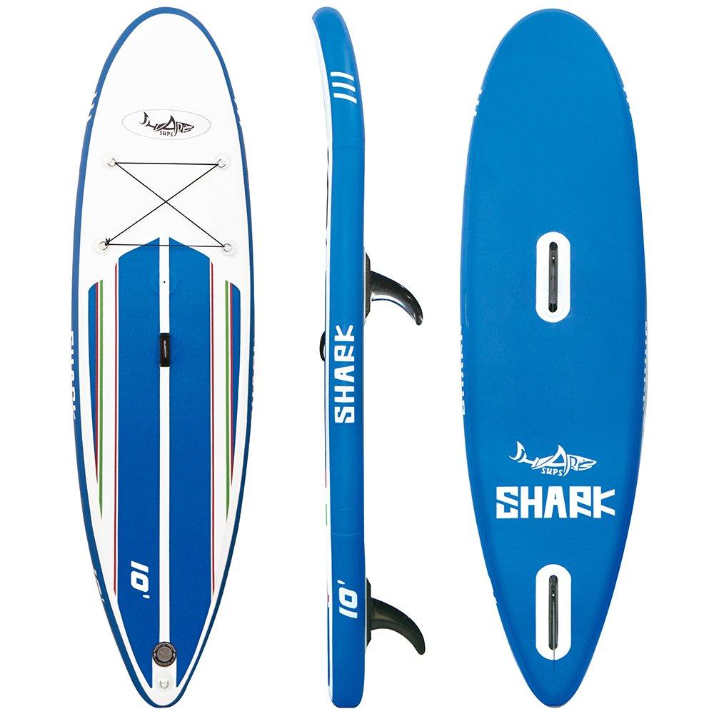 Amazon.com: SharkSups Tabla de windsurf hinchable ...