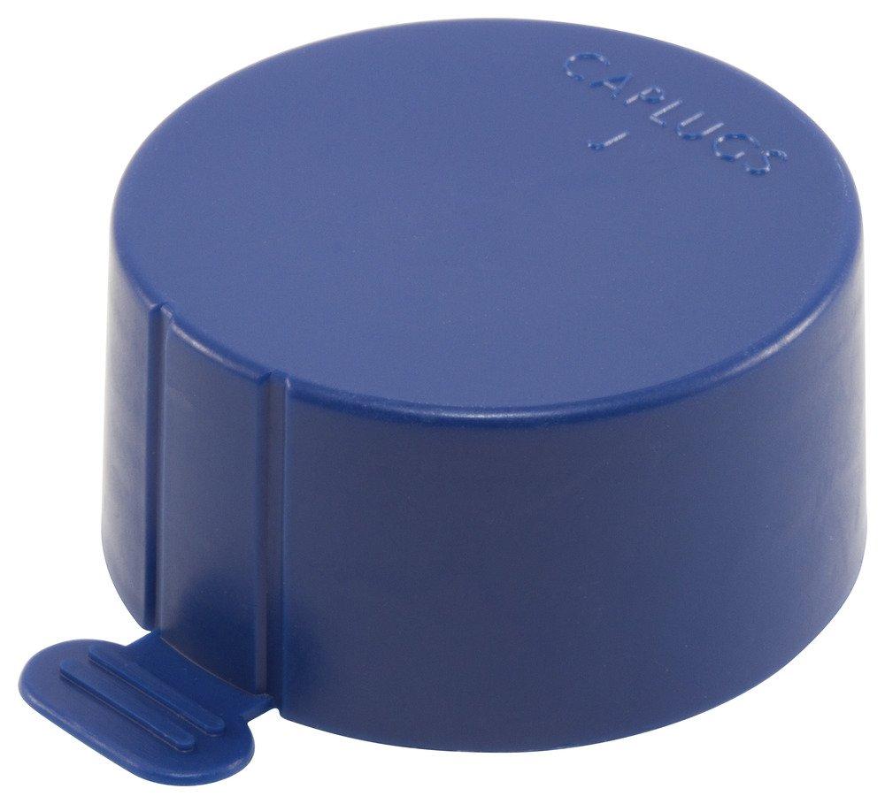 Caplugs QTT0Q2 Plastic Tear-Tab Cap for NPT Pipe Threads. J-TT-0, PE-LD, To cap thread size 1/16'' NPT'', Blue (Pack of 4000)
